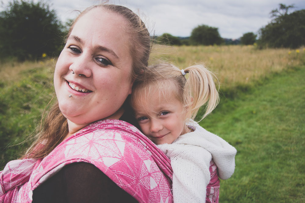 Babywearing photography Colchester