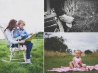 summer outdoor photo shoot