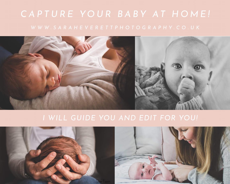 baby photo lockdown