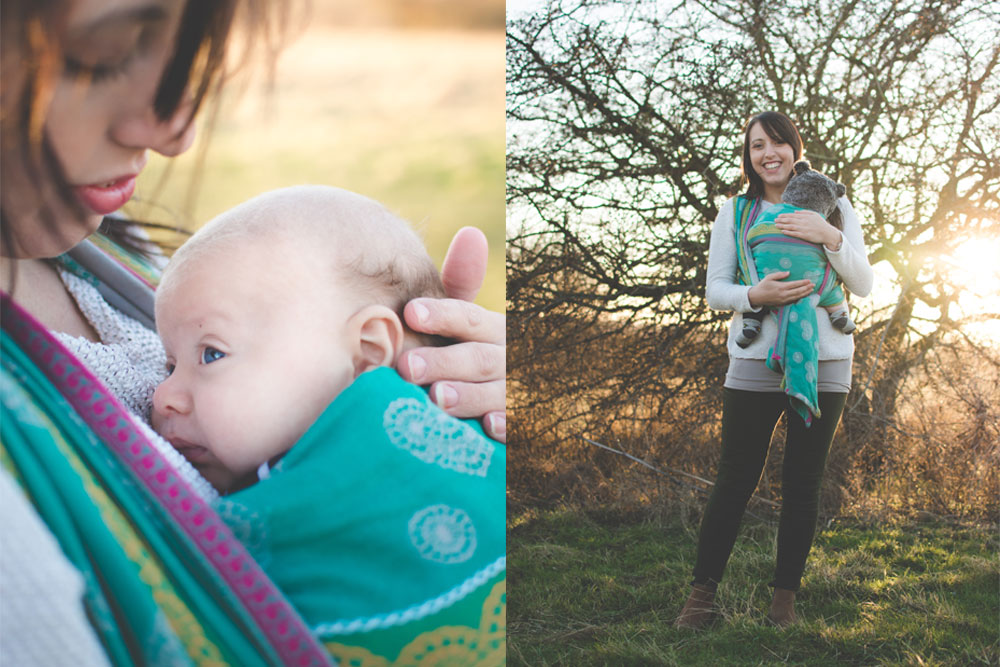 babywearing photographer colchester