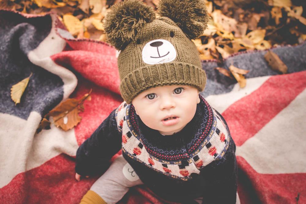 autumn photo shoot